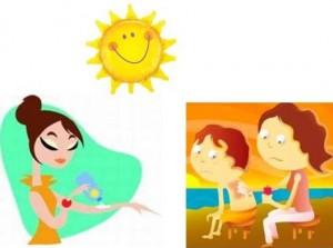 Crédito  Ilustração. O uso do protetor solar é extremamente importante ... 376c126d14f24