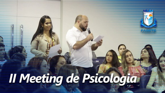 II MEETING DE PSICOLOGIA